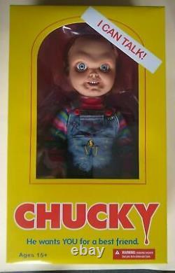 Mezco Child's Play Talking Sneering Chucky 15 Mega-Scale Doll Sealed PRE-ORDER