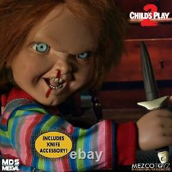 Mezco Childs Play Talking Menacing Chucky Doll Chucky Action Figure 15 New
