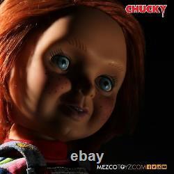 Mezco Mega Scale Good Guys Talking Chucky Childs Play New Original