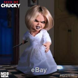 Mezco Seed of Chucky Talking Tiffany Mega Scale Action Figure Doll Childs Play