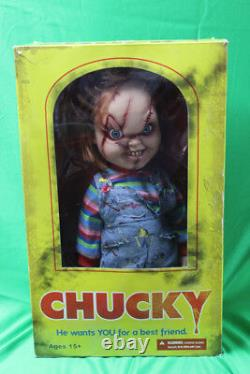 Mezco Toys Bride of Chucky Childs Play He Wants YOU For a Best Friend 2013