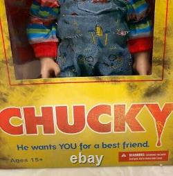 Mezco Toys Chucky Bride of Chucky Childs Play He Wants YOU For a Best Friend