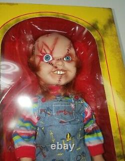 Mezco Toyz Child's Play 3 SCARRED FACE CHUCKY 15 Doll with Sounds