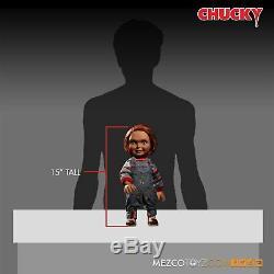 Mezco Toyz Child's Play Talking Good Guys Chucky 15 Action Figure Doll 78004