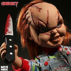 Mezco Toyz Chucky Talking Doll Child's Play 15 Mega Scale Bride Of Chucky NEW