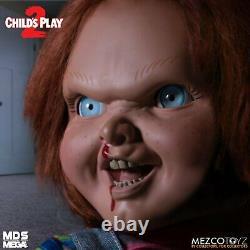 Mezco Toyz MDS Childs Play 2 Talking Menacing Chucky Horror Doll Figure 78023