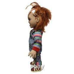 Mezco Toyz Mega Talking Scarred Child's Play Chucky 15 Good Guy Doll Figure Dent