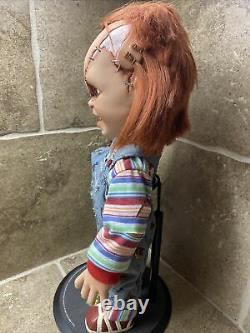 Mezco Toyz Scarred Chucky Childs Play Horror Mega Scale 15 Doll BEST DEAL
