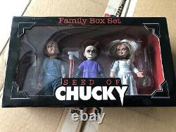 NECA Child's Play Seed Of Chucky Family Box Set Tiffany Glen 2004 Set Of Three