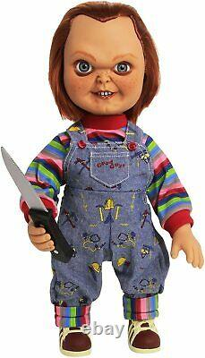 NECA Childs Play 15 Inch Evil Face Chucky Doll Brand New