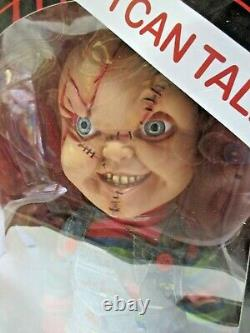 NEW 15 talking scarred Chucky Mega Figure (MISB) Child's Play (2015) Mezco