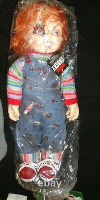 NEW Vintage Childs Play Bride Of Chucky 24 Life Size Doll Plush Good Guys Vinyl