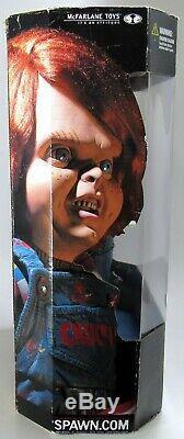 New Sealed McFarlane Movie Maniacs 2 Childs Play 2 Chucky 12 Inch 2001