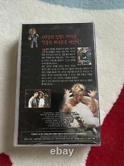 Rare CHILDS PLAY Korean Horror Vhs Tape BRIDE OF CHUCKY Original Vintage Korea
