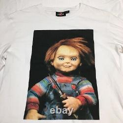 Rare VTG Childs Play 2 Chucky Doll Universal Studios Licensed T Shirt Small 90s