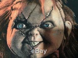 Rare vintage Child's Play Chucky Horror movie Original t shirt bride of chucky