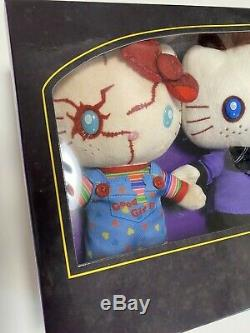 Sanrio Japan USJ Halloween Hello Kitty x Child's Play Chucky Plush Trio set 2019