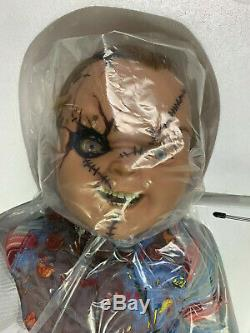 Seed of chucky Doll Childs Play Doll life size Sideshow 11 NIB SIGNED