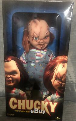 Sideshow Child's Play Chucky 14 Doll Good Guys Figure. Newithnever Opened. RARE