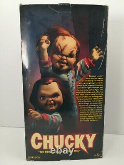 Sideshow Child's Play Chucky 14 Doll'Good Guys' Large Figure New Old #4605