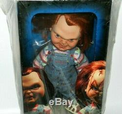 Sideshow Chucky Child's Play 15 Large Doll Good Guys New Gem Never Opened