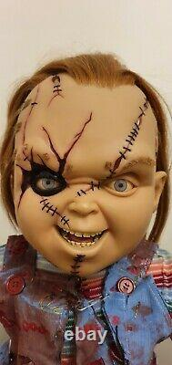 Sideshow Collectible Lifesize CHUCKY DOLL Childs Play Hot Toys #99/850 Worldwide