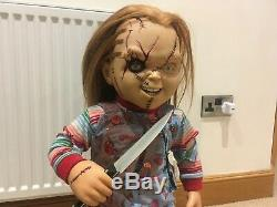 Sideshow Lifesize Seed Of Chucky Replica Doll Movie Prop-child's Play Good Guy
