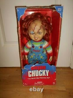 Sideshow Toy 1999 Child's Play Bride Of Chucky Scar Version 16 Doll Figure &box