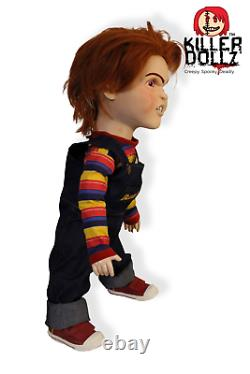 Talking Child's Play2019 Reboot Buddi Chucky Doll Evil Angry (Chucky) Prop 2019