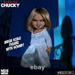 Tiffany Doll Talking Seed Of Chucky Child's Play 15 Mezco Mega Scale with Sound
