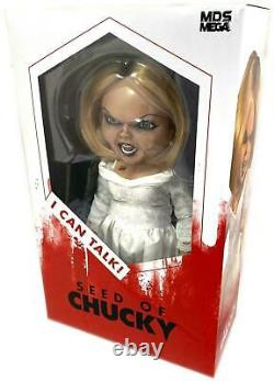 Tiffany Seed Of Chucky Child's Play 15 Mezco Talking Mega Scale Doll with Sound