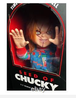 Trick Or Treat Studios BUNDLE Chucky Childs Play 2 & Chucky Seed of Chucky Doll