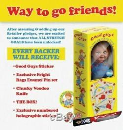 Trick Or Treat Studios Chucky KICKSTARTER Child's Play 2 Good Guys Doll IN STOCK