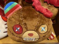 USJ Halloween Hello Kitty Chucky Child's Play Reversible Big Cushion Plush