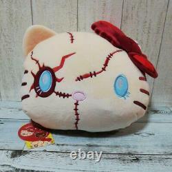 USJ Halloween Hello Kitty x Child's Play Chucky Reversible Cushion