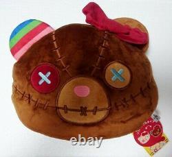 USJ Halloween Hello Kitty x Child's Play Chucky Reversible Cushion 23cm (9)