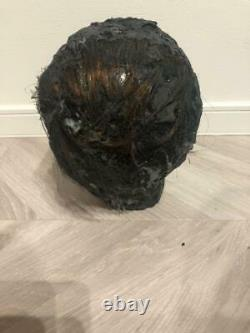 Used Childs Play Chucky Damage Head Prop Replica Goods Figure Very Real