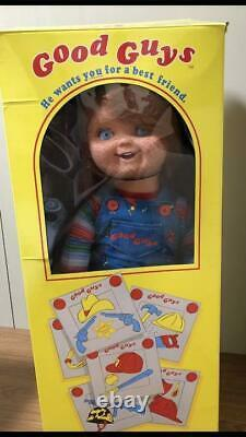 Used Trick Or Treat Child's Play Chucky Life-Sized Figure Good Guys Doll