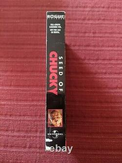 VHS Seed of Chucky SCREENER PROMO PROMOTIONAL Child's Play Horror RARE VHTF