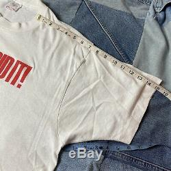 Vintage 1989 Chucky Did It! Childs Play Movie Promo T Shirt Sz XL