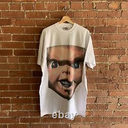 Vintage Blinged Out Chucky Child's Play T-Shirt SZ XL