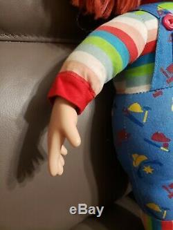 Vintage Chucky 17 Plush Doll Sideshow Toys Child's Play 2 Original 1999 used