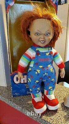 Vintage Sideshow Chucky Childs Play Doll 1999 TB Bucs Gruden NFL Outfit