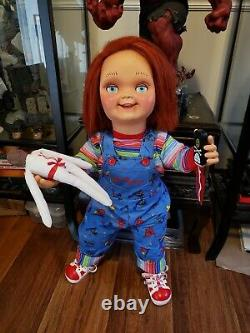 Voodoo Doll & Knife Lot for the Chucky Child's Play Good Guy Doll NO CHUCKY