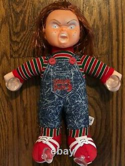 Vtg horror movie Child's Play Chucky Doll promo only deadstock nos match shirt